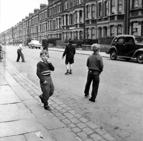 kids in street